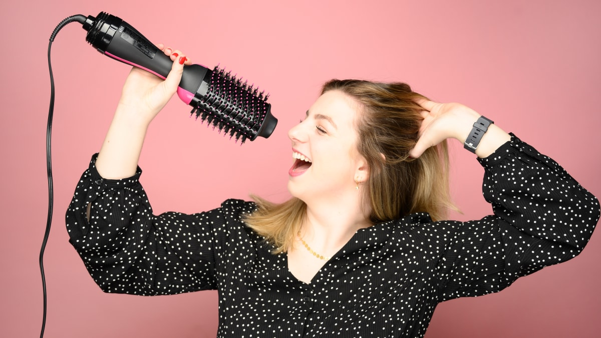 Revlon's hair dryer brush broke the internet—but does it actually work?