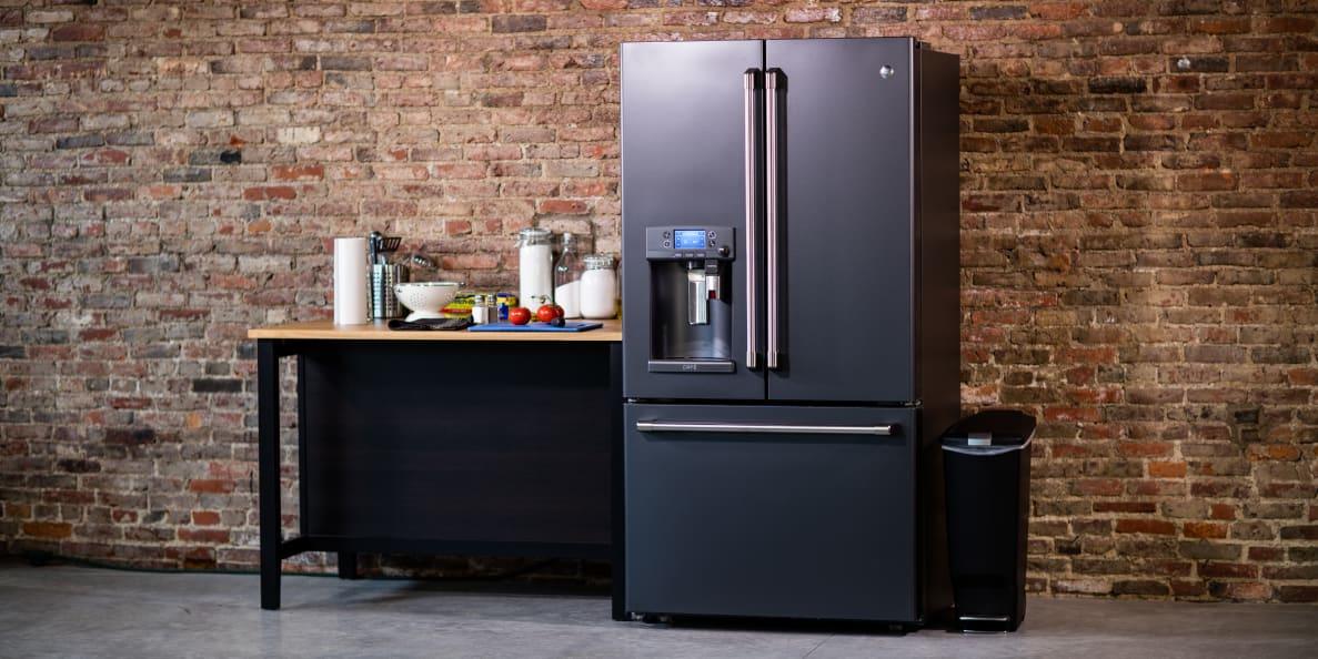 café fridge