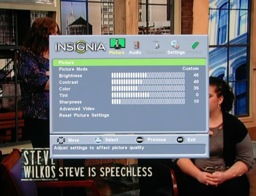 Insignia NS-50L240A13 LCD HDTV Review - Reviewed Televisions
