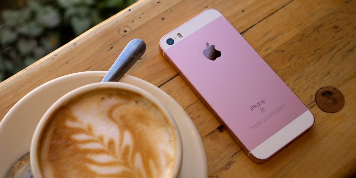 The Apple iPhone SE