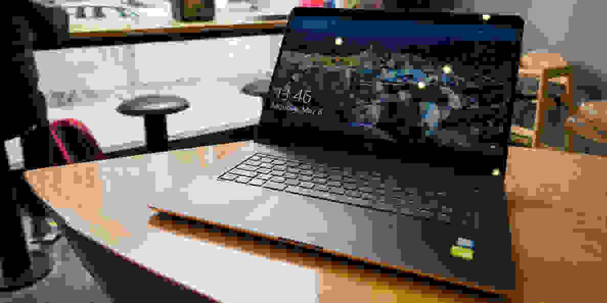 HP Spectre X360 15-inch 2017