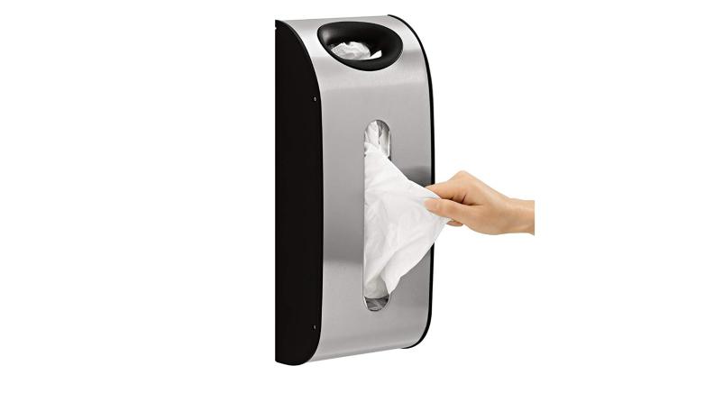 Wall Mount Grocery Bag Dispenser