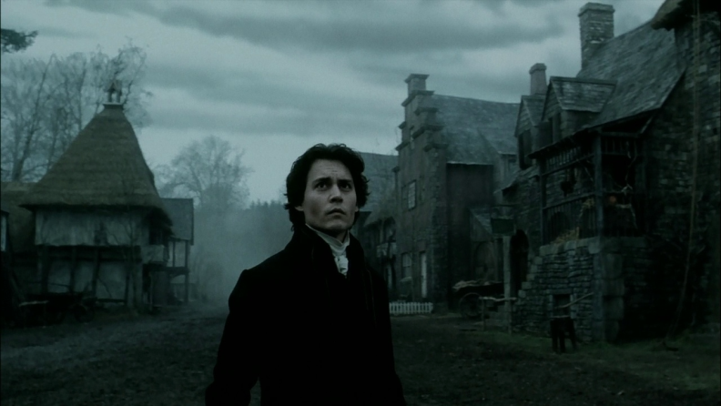Johnny Depp investigates an otherworldly crime spree in 'Sleepy Hollow.'