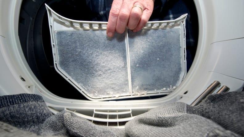 Dryer-lint-filter