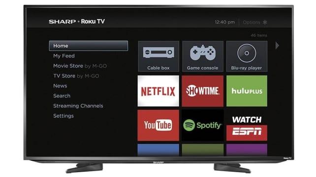 Sharp Roku 43-Inch LED TV