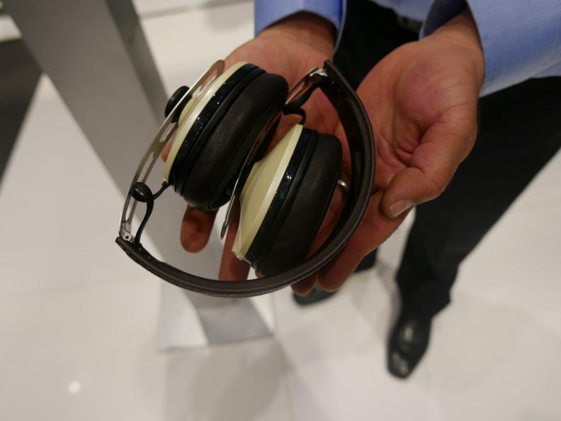 Collapsed Headphones