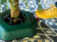 A sturdy Christmas tree stand is a must for a smooth holiday season.