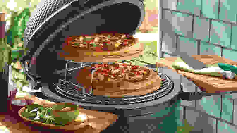 Best Pizza: Kamado Grill