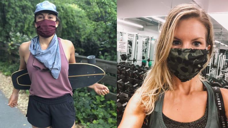 crossfit masks