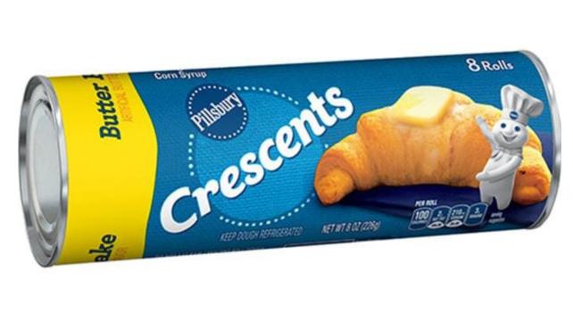 The best Pillsbury rolls buttery crescent