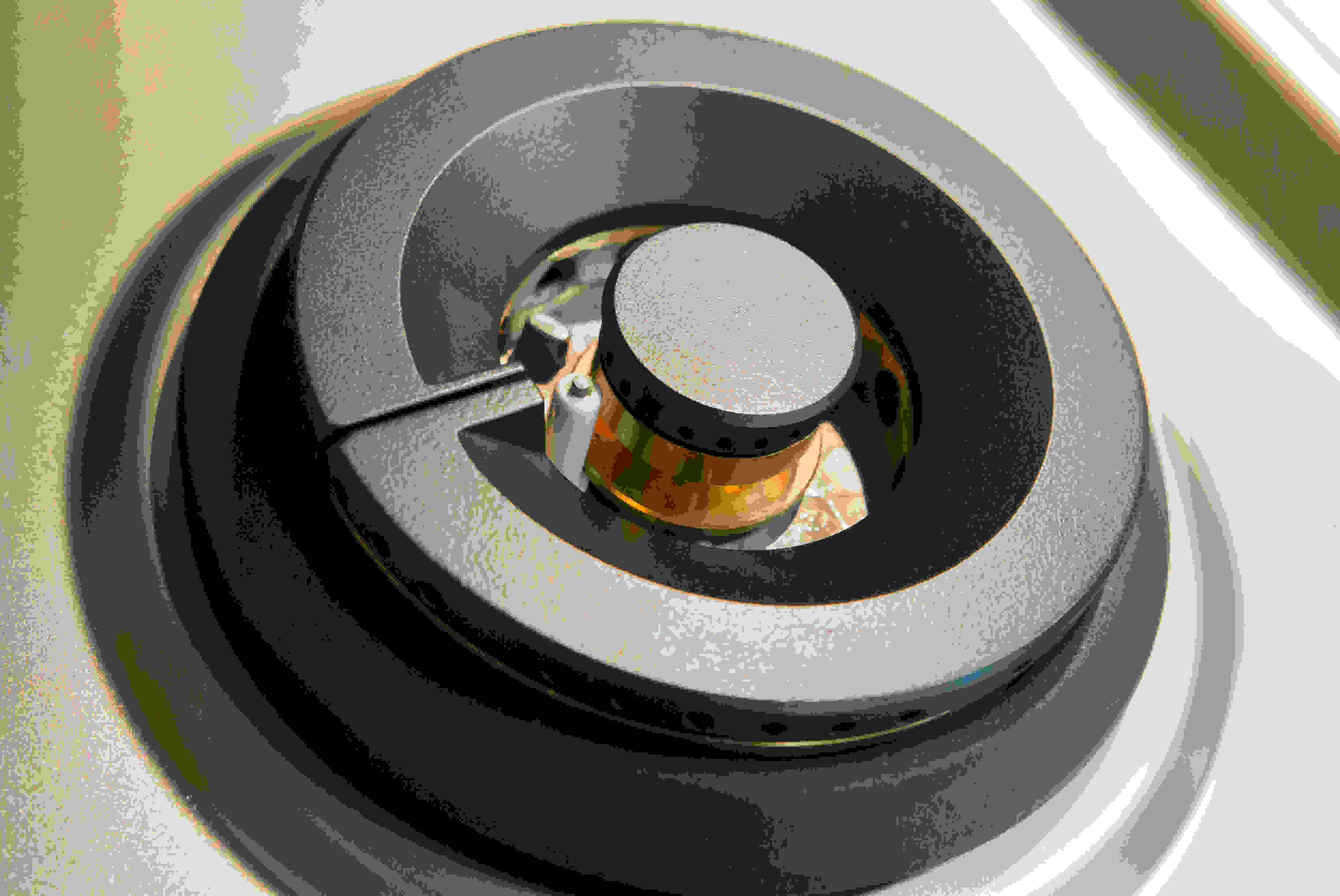 front burner closeup