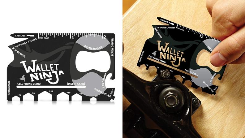 Wallet Ninja 18-in-1 Credit Card Sized Multitool