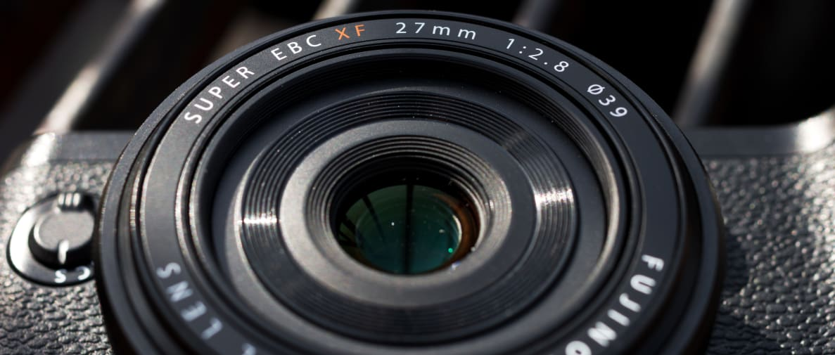 Fujifilm's 27mm f/2.8 is an affordable pancake