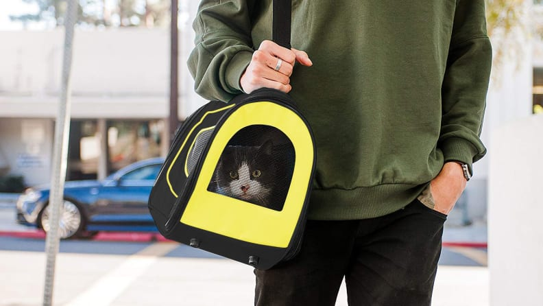 Pet Magasin Luxury Soft-Sided Cat Carrier