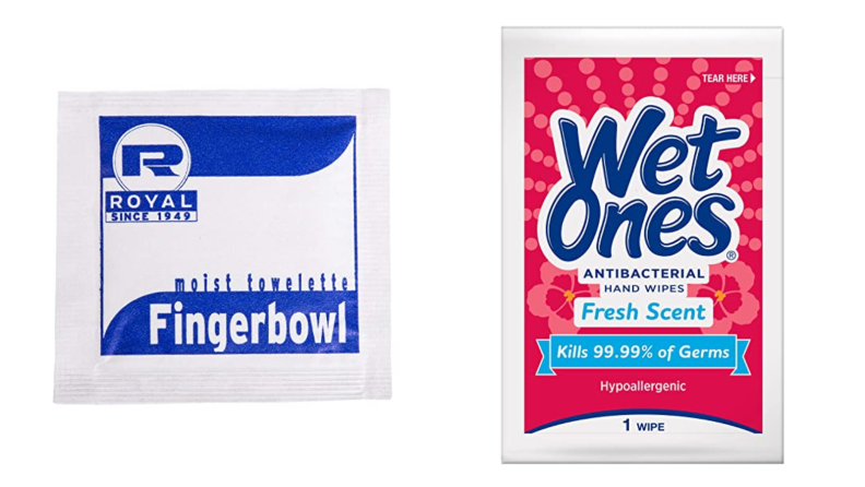 Wet Wipes towelettes