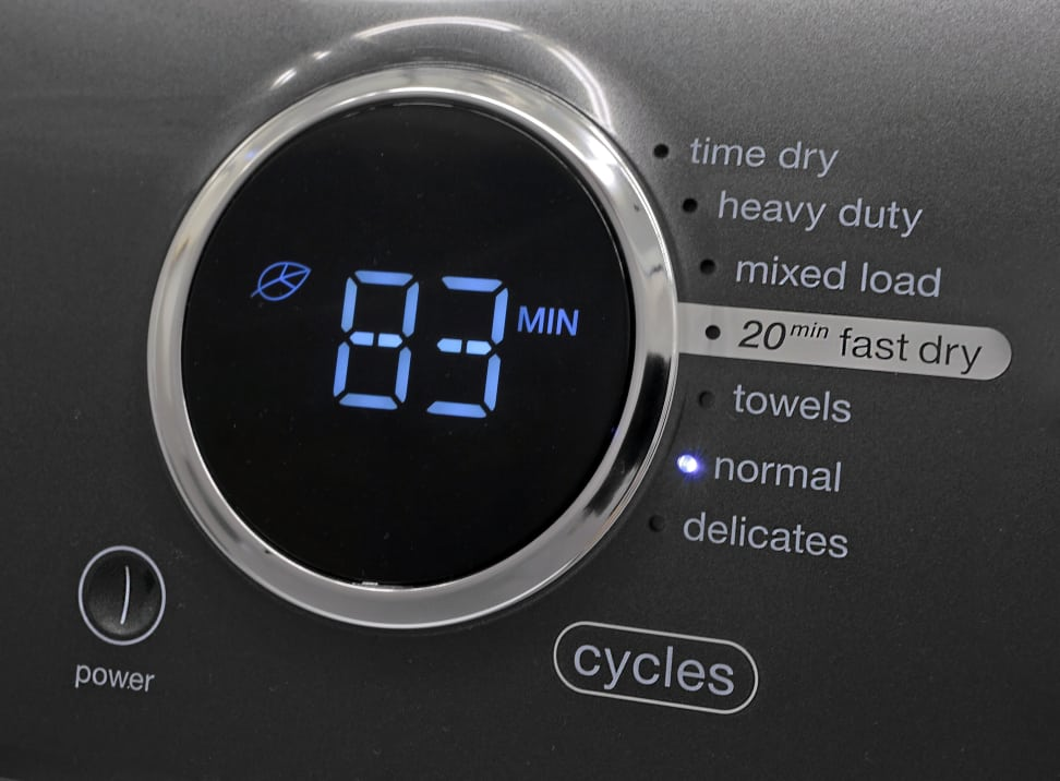 Electrolux EFME417SIW Cycles