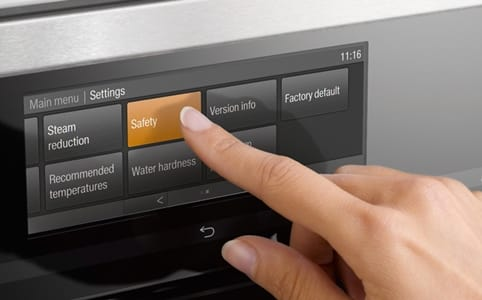 Miele's M-Touch interface.