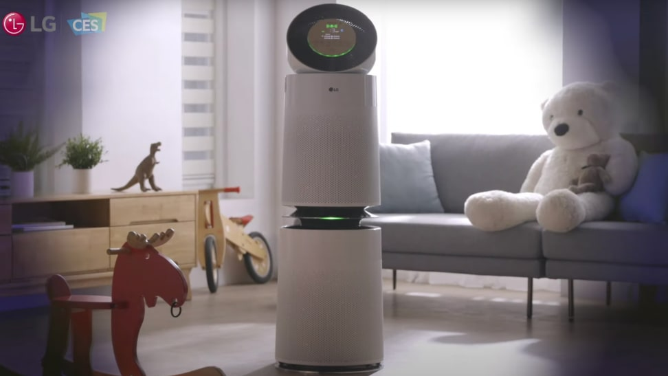 LG announces a new line of air purifiers at CES 2021