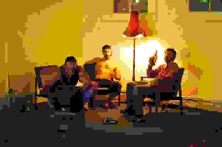 Bros Watching TV