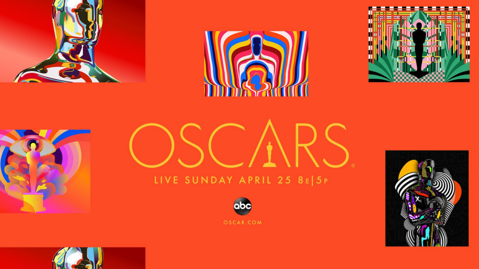 An image of the Oscars announcement banner.