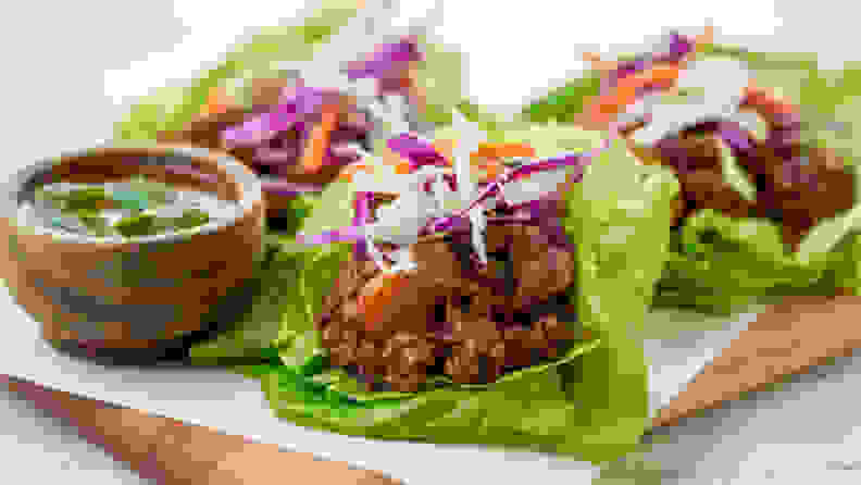 Home Chef Customize Lettuce Wrap
