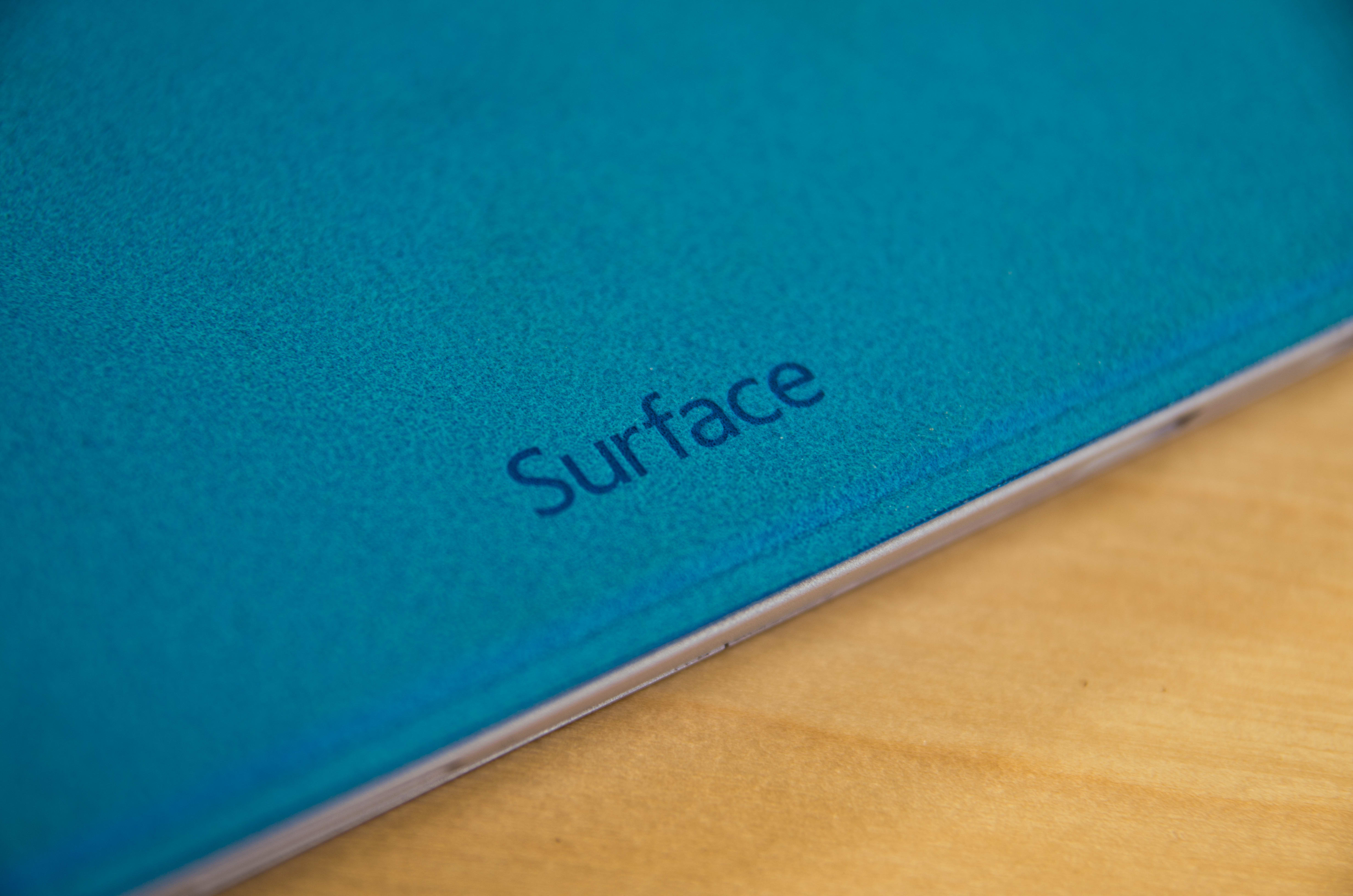 A closer look at the Microsoft Surface Pro 3's cover.