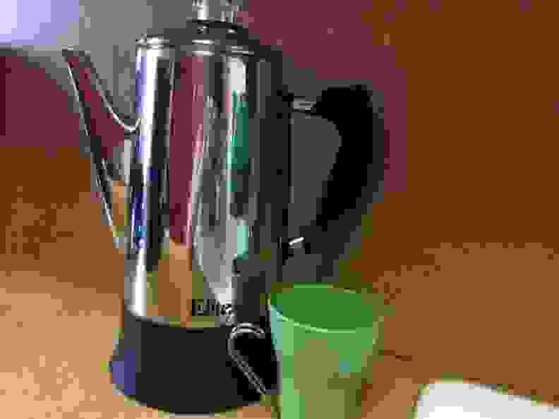 elite maxi matic electric coffee percolator