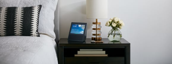 Amazon echo show night stand
