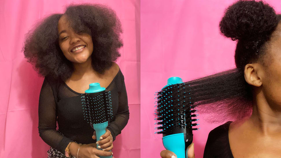 Revlon One Step Hair Dryer On Natural Hair Does It Actually Work Reviewed Beauty
