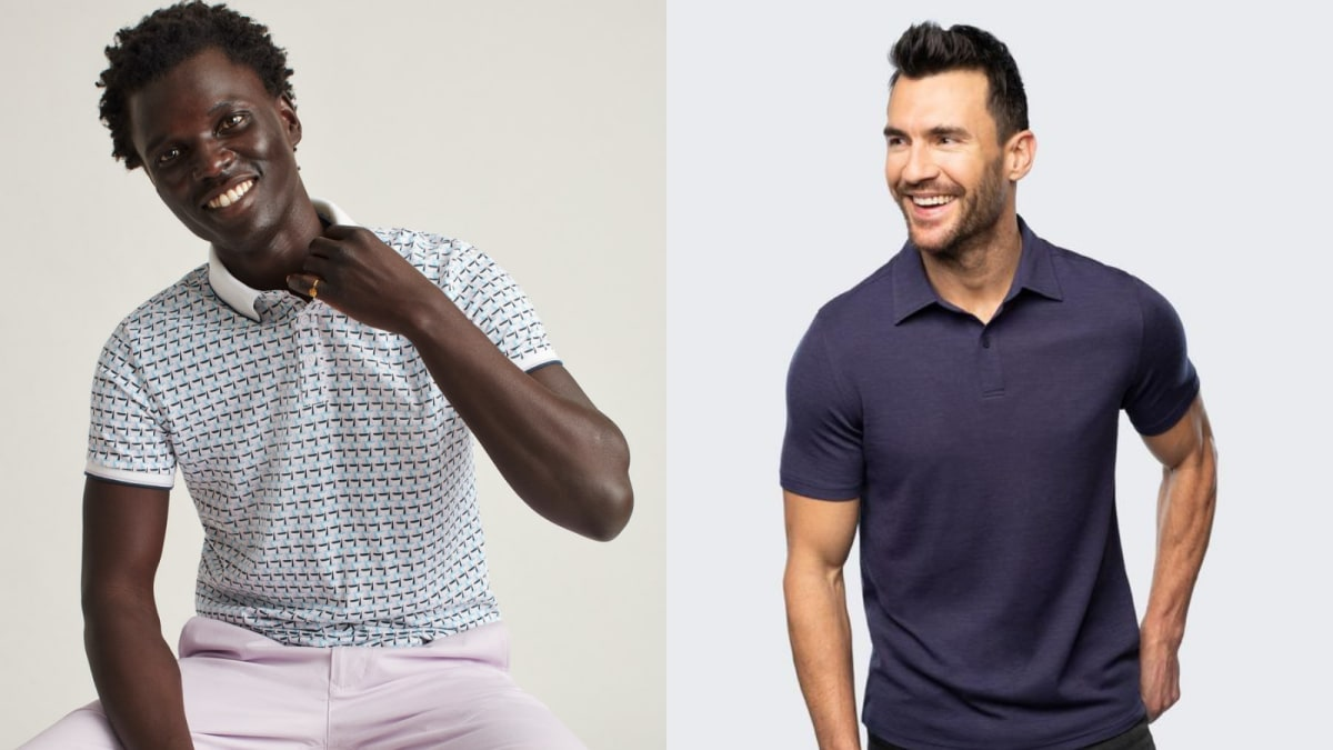10 men's polo shirts you can wear anywhere this spring