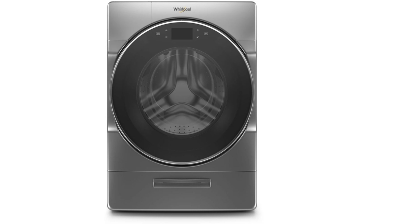 The Whirlpool WFW9620HC on a white background.