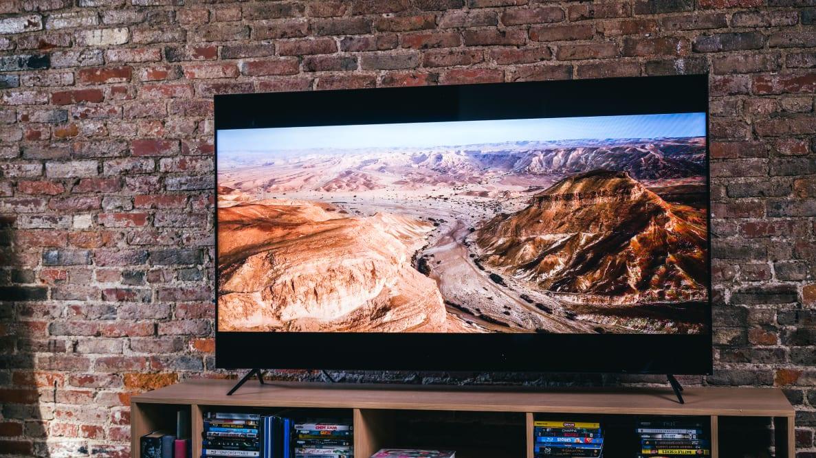 The 65-inch Vizio P-Series Quantum X (2020) displaying HDR content