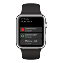 August App for Apple Watch
