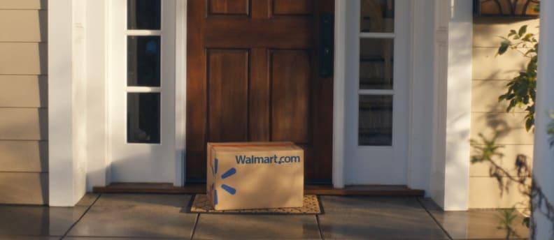 Walmart Shipping Box