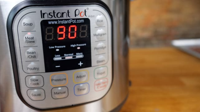 Setting the Instant Pot