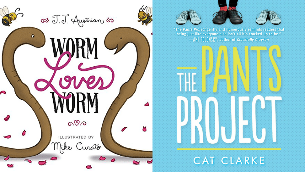 Books for young readers with LGBTQ characters