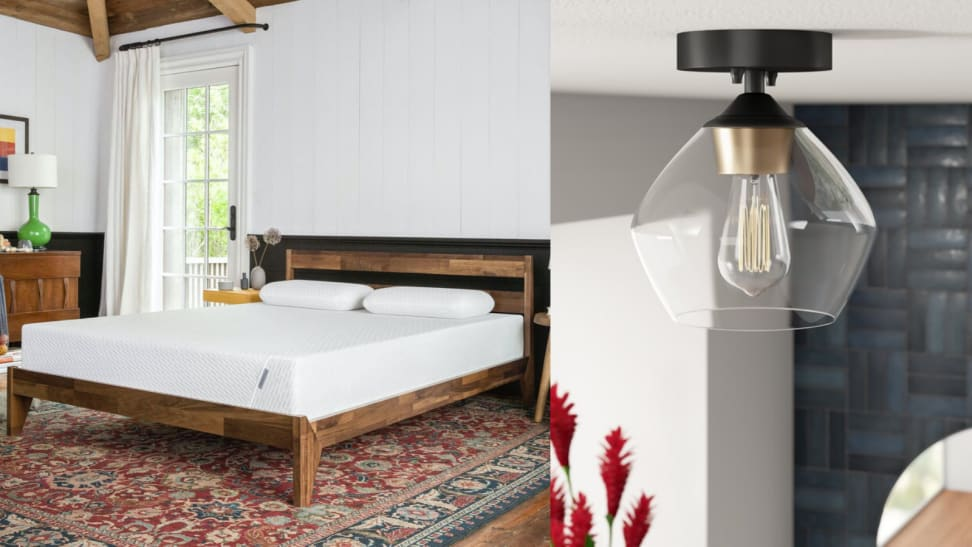 cooling mattress, LED light hero