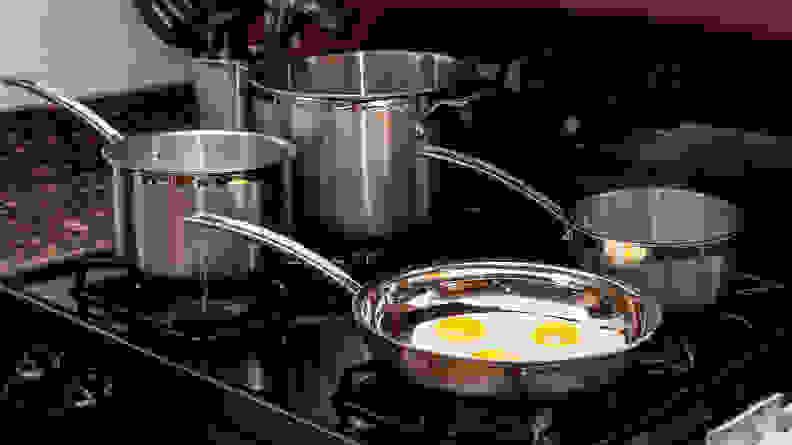 Cuisinart Stainless Steel 12-Piece Cookware Set