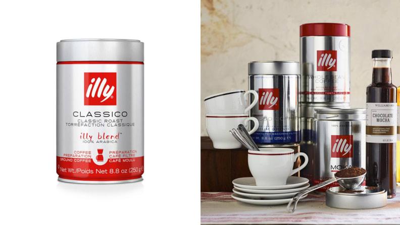 illy Espresso, Medium Roast Ground Coffee
