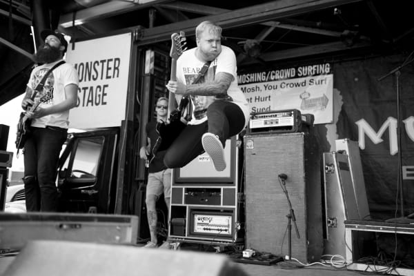 The Color Morale live at Vans Warped Tour.