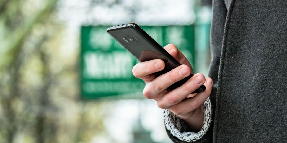 Samsung Galaxy S8 Handling