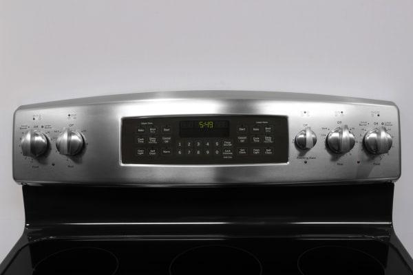 GE JB850SFSS rangetop controls