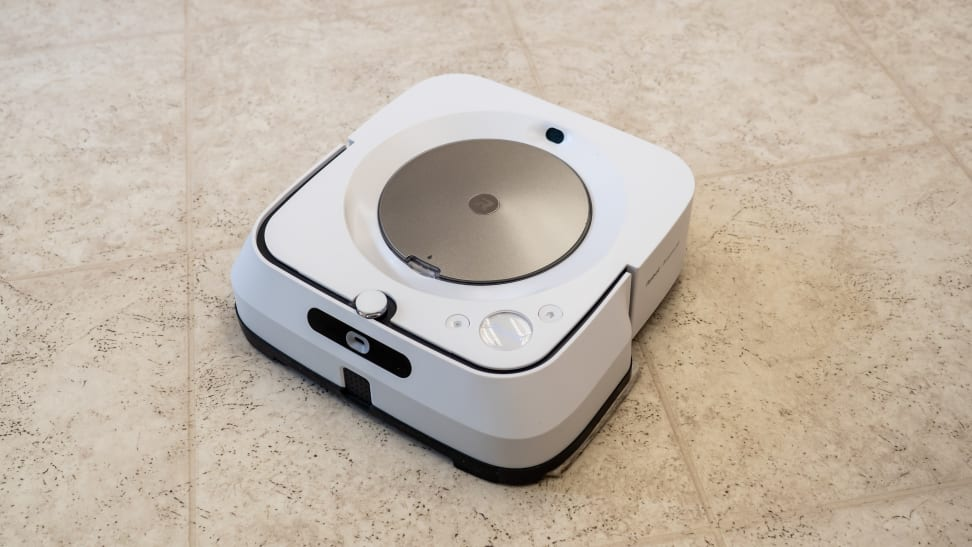 The iRobot Braava Jet M6 is a master at cleaning hard floors.