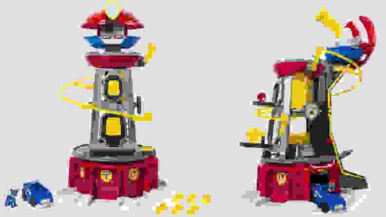 Paw Patrol toy tower