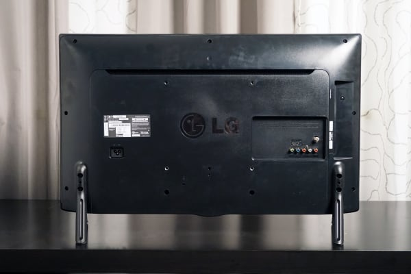 The back of the LG LB560B