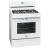 Frigidaire gallery fggf3032mw 30 inch freestanding white gas range
