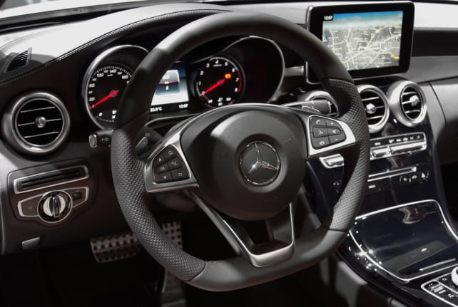 Mercedes C-Class Coupe Interior