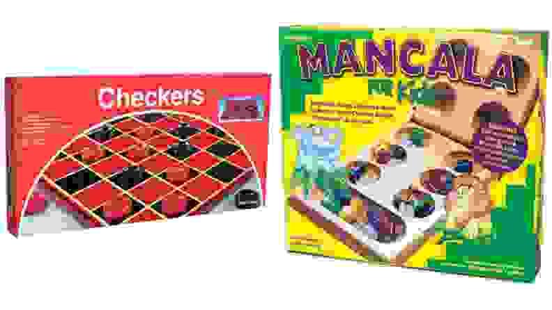 Checkers and Mancala