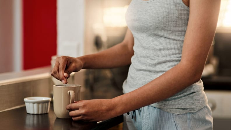 tea to reduce jitters