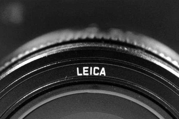 The new 23mm f/1.7 lens is entirely a Leica creation, though aperture control is relegated to the body.